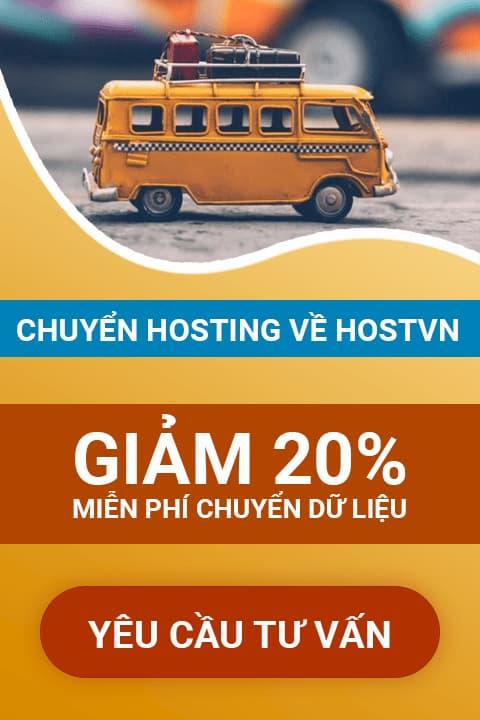 Hostvn Chuyển Hosting về HOSTVN