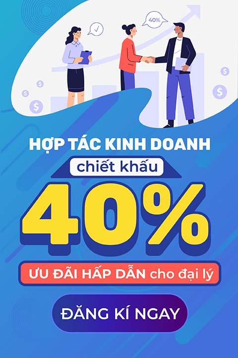 Hostvn Chiết khấu tới 40% cho đại lý